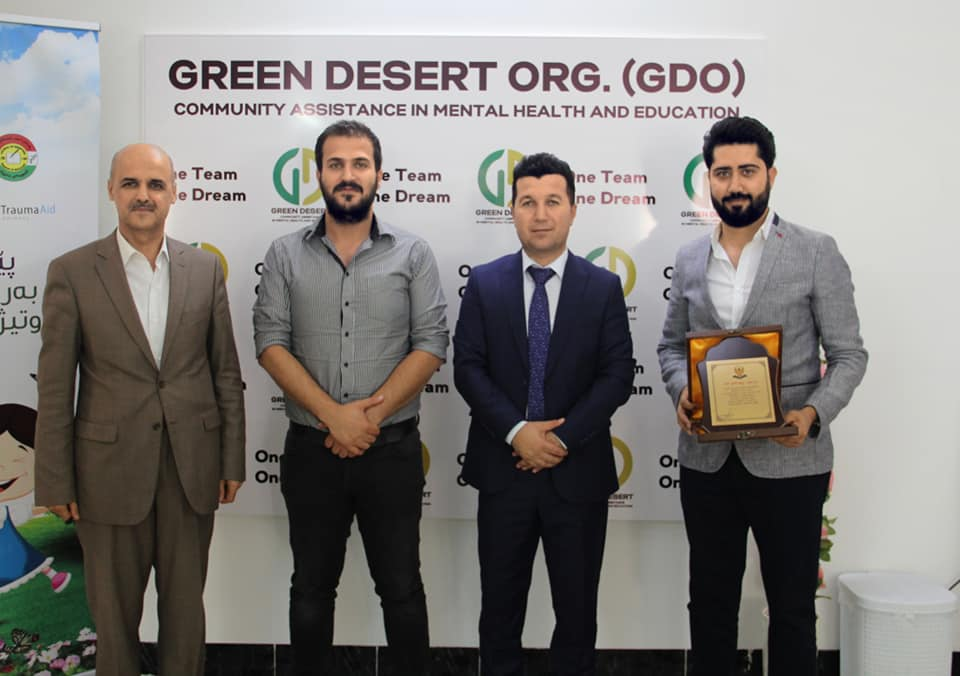 Erbil General directorate of Education awards Green Desert