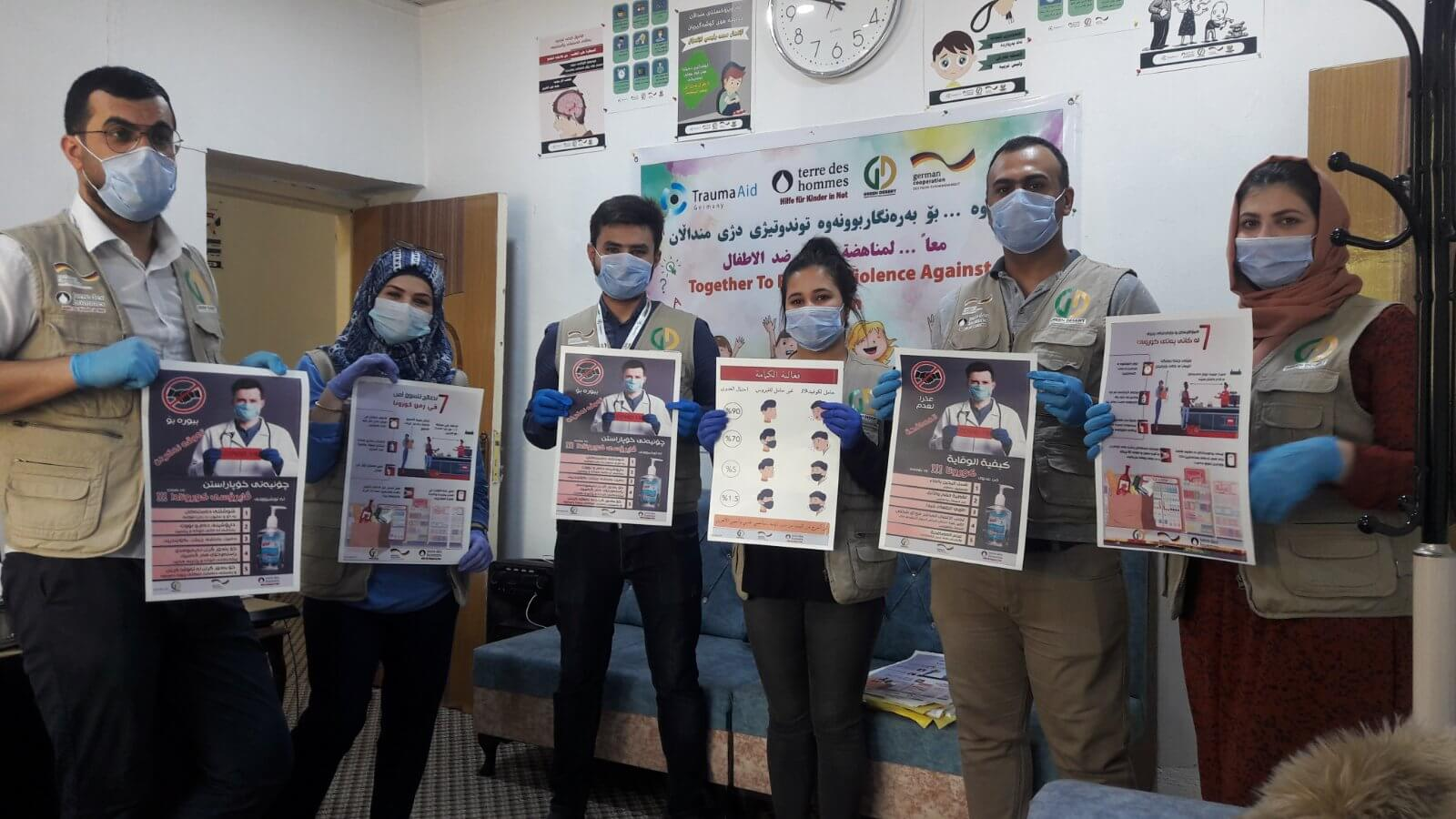COVID-19 awareness campaign in Kirkuk and Mosul