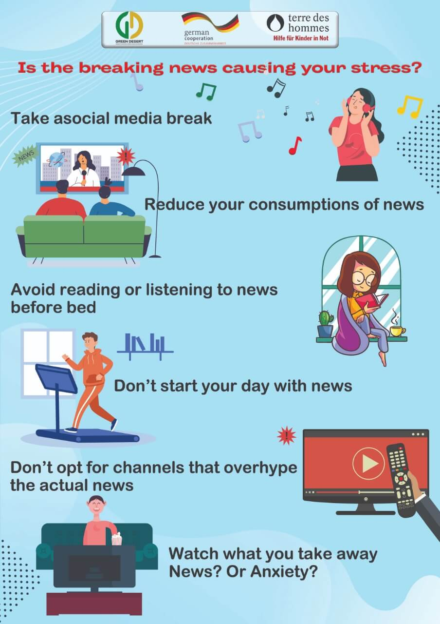 Is the breaking news causing you stress?