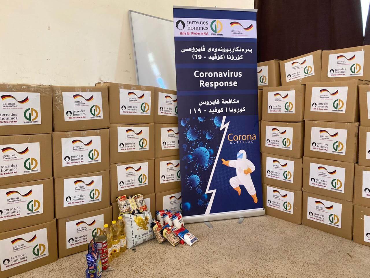 Food Distribution in Erbil (Mamzawa)