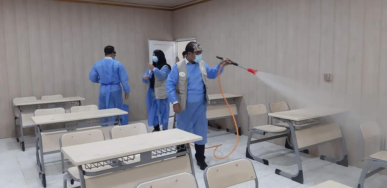 Schools sterilization campaign