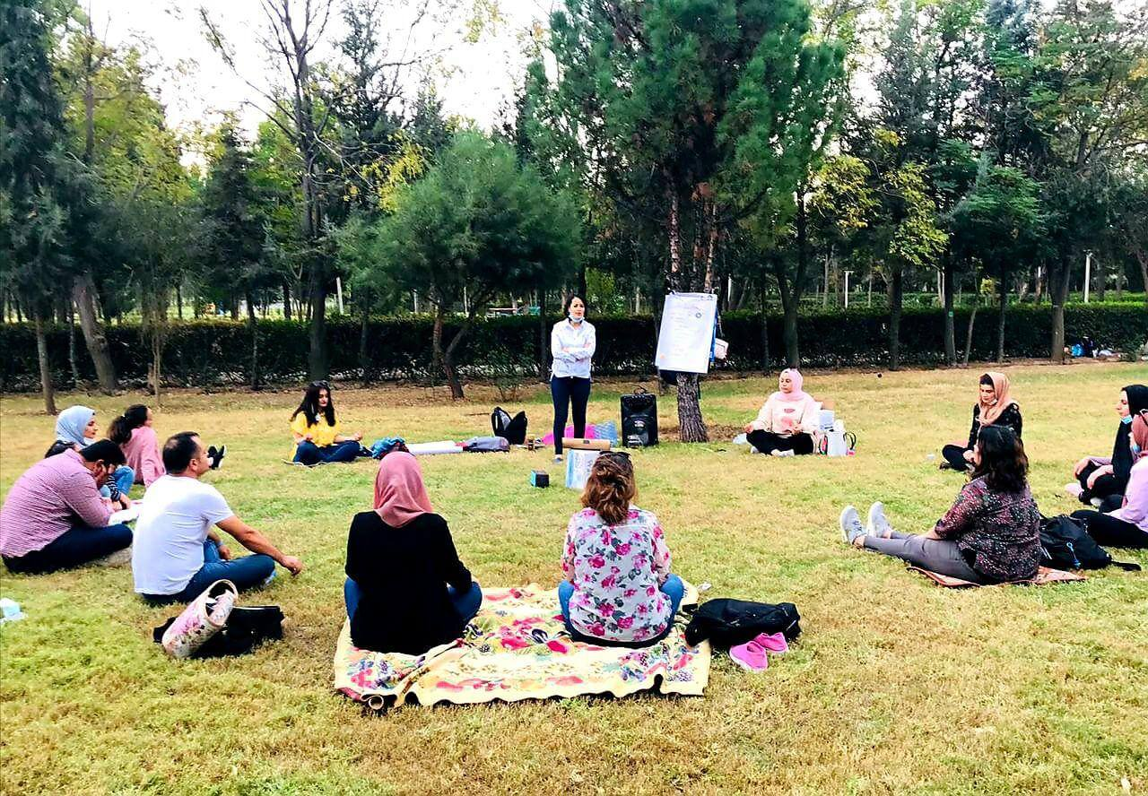 Self-care training for Almasala organization