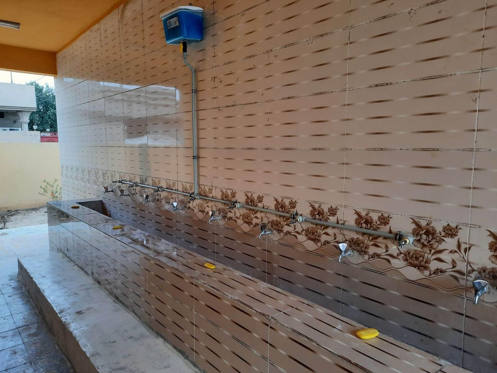 Establishing a liquid handwashing soap system in 12 schools