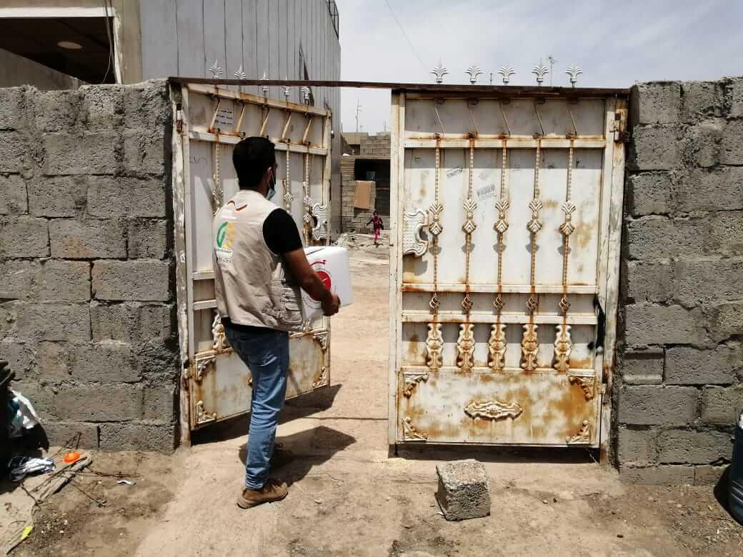 4500 Food baskets distrusted in Erbil-Mamzawa